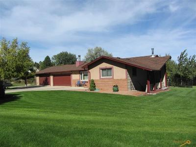 Rapid City Single Family Home For Sale: 7318 Kingbird Ct