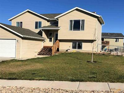 Rapid City, Hermosa, Box Elder, Black Hawk, Rapid Valley, Summerset, Piedmont, Piedmont Valley Single Family Home For Sale: 722 Old Cavalry Rd