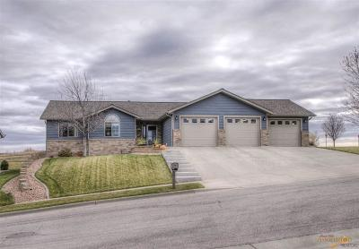 Rapid City Single Family Home For Sale: 476 Gemstone Dr