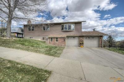 Rapid City, Hermosa, Box Elder, Black Hawk, Rapid Valley, Summerset, Piedmont, Piedmont Valley Single Family Home For Sale: 3724 Freedom Ct