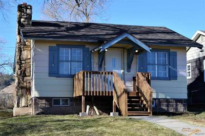Rapid City Single Family Home For Sale: 815 Taylor Ave