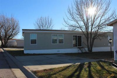 Rapid City, Box Elder, Piedmont, Black Hawk, Hermosa, Summerset, New Underwood Manufactured Home For Sale: 1702 E Hwy 44