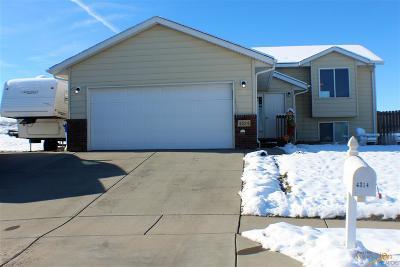 Rapid City Single Family Home U/C Contingency: 4314 Buddy Ct