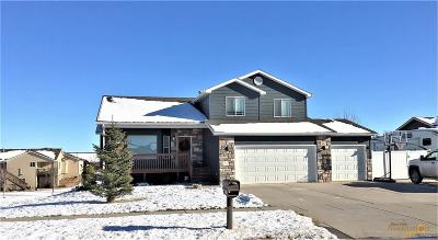 Rapid City Single Family Home For Sale: 6918 Cog Hill Ln