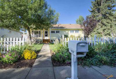 Rapid City Single Family Home U/C Contingency: 1929 Evergreen Dr