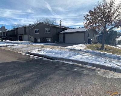 Rapid City Single Family Home For Sale: 2737 Rawhide Dr