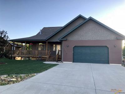 Sturgis Single Family Home For Sale: 2391 Hillside Dr