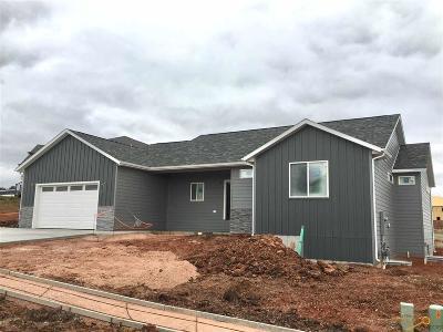 Rapid City Single Family Home U/C Take Back Ups: 6032 Cloud Peak Dr