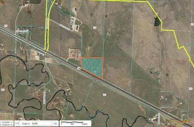 Rapid City Commercial Lots & Land For Sale: 14940 E Hwy 44