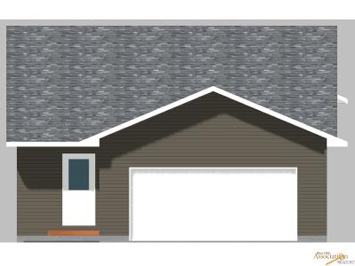 Rapid City SD Single Family Home For Sale: $214,500
