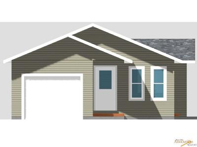 Rapid City SD Single Family Home For Sale: $174,900
