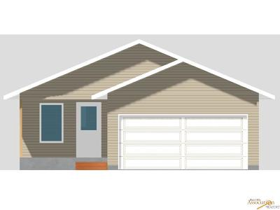 Rapid City SD Single Family Home For Sale: $183,000
