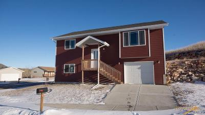 Rapid City SD Single Family Home For Sale: $189,100