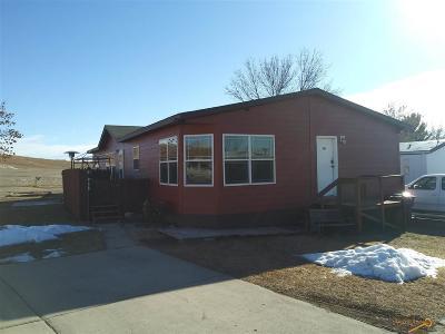 Rapid City, Box Elder, Piedmont, Black Hawk, Hermosa, Summerset, New Underwood Manufactured Home For Sale: 207/1702 E Hwy 44
