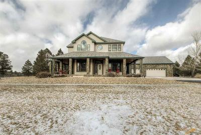 Rapid City Single Family Home For Sale: 13492 Sorrel Ct
