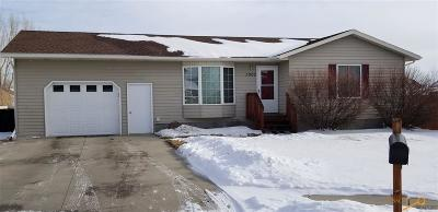 Rapid City Single Family Home For Sale: 3000 Connie Ct
