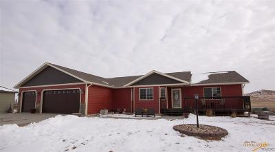 Rapid City Single Family Home For Sale: 11540 Night Wind Ct