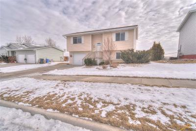 Rapid City Single Family Home For Sale: 3610 Hemlock