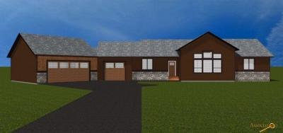 Rapid City Single Family Home For Sale: Lot 54 Spotted Fawn Ln