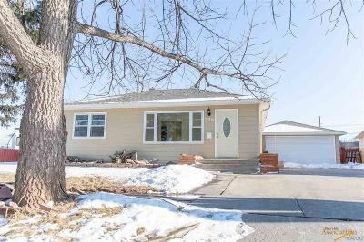 Rapid City SD Single Family Home For Sale: $179,900
