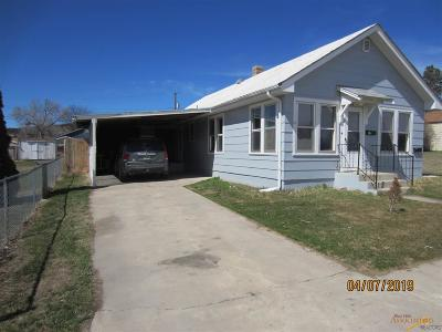 Rapid City, Hermosa, Box Elder, Black Hawk, Rapid Valley, Summerset, Piedmont, Piedmont Valley Single Family Home For Sale: 815 Dilger Ave