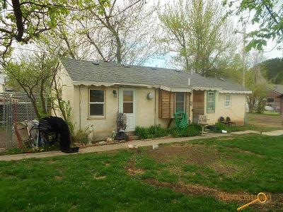Sturgis Single Family Home For Sale: 821.5 Main