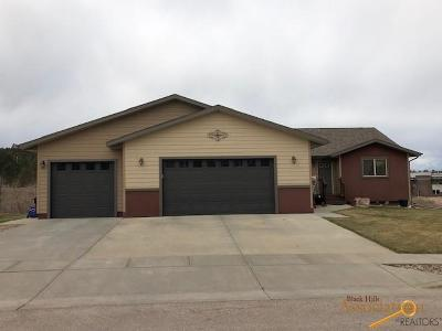 Rapid City Single Family Home U/C Contingency: 5931 Bendt Dr