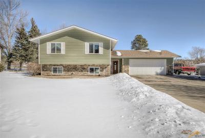 Rapid City Single Family Home U/C Contingency: 510 Berry Blvd