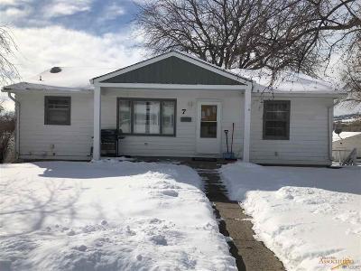 Rapid City Single Family Home U/C Contingency: 7 St Charles