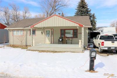 Sturgis Single Family Home For Sale: 1211 Deadwood St