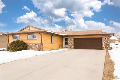Rapid City Single Family Home U/C Right Of Refusal: 3611 Michigan Ave