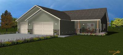 Rapid City Single Family Home For Sale: Lot 4b Brahman Lane