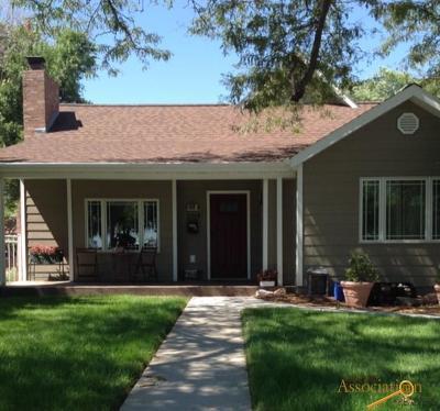 Rapid City Single Family Home U/C Take Back Ups: 2019 9th