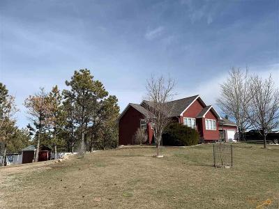 Rapid City Single Family Home U/C Take Back Ups: 5420 Snowberry Ln