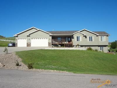 Rapid City Single Family Home U/C Take Back Ups: 11823 Wild Horse Ct