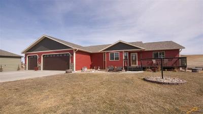 Rapid City Single Family Home U/C Right Of Refusal: 11540 Night Wind Ct