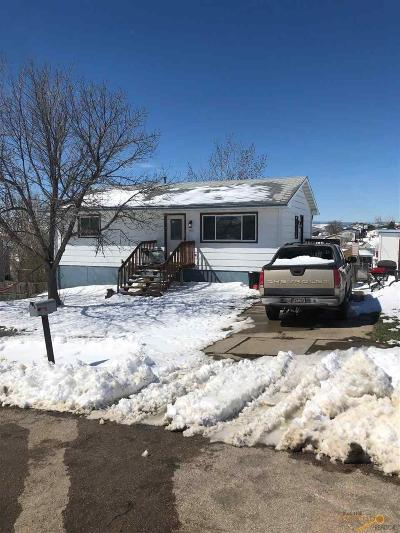Rapid City Single Family Home For Sale: 1505 Meadow Lane