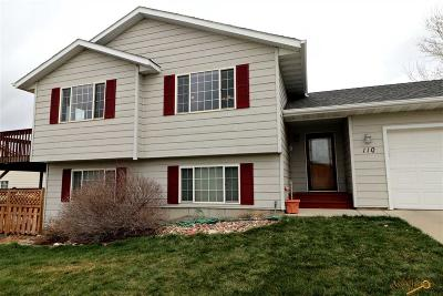 Rapid City Single Family Home For Sale: 110 Bengal Dr