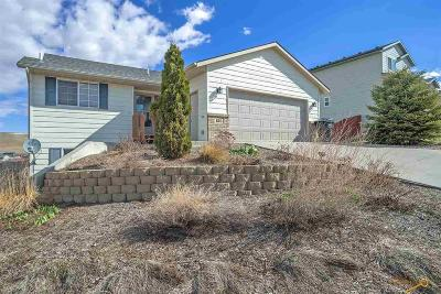 Rapid City SD Single Family Home U/C Contingency: $230,000