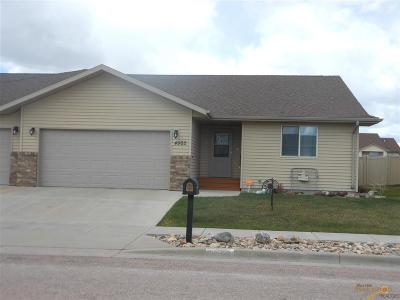 Rapid City Condo/Townhouse For Sale: 4902 Patricia St