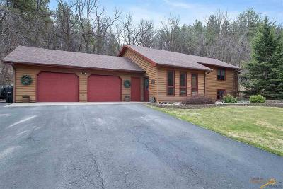 Whitewood Single Family Home For Sale: 11973