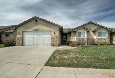Rapid City Condo/Townhouse For Sale: 6703 Dunsmore Rd