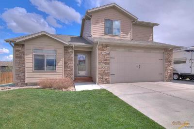Rapid City Single Family Home U/C Contingency: 4352 Fieldstone Dr