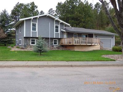 Rapid City Single Family Home U/C Contingency: 3321 Stockade Dr