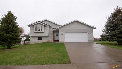 Rapid City Single Family Home U/C Take Back Ups: 3135 Willowbend Rd