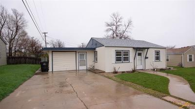 Rapid City Single Family Home U/C Contingency: 2012 Elm Ave