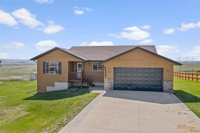 Rapid City Single Family Home For Sale: 22961 Candlelight Dr