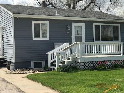 Rapid City Single Family Home For Sale: 2119 Oak Ave