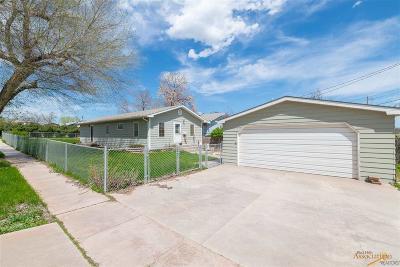 Rapid City Single Family Home For Sale: 3119 W Omaha