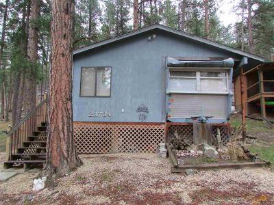 Single Family Home For Sale: 23734 Claim Jumper Rd